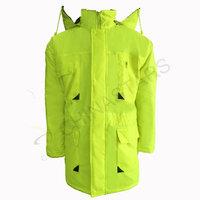 Hi-vis jacket with multiple pockets