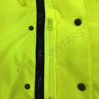 Two tone color 3-in-1 reflective jacket