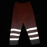 Double color reflective pants
