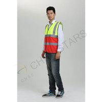 Two-tone colors reflective vest