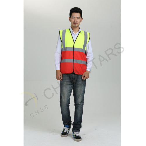 Two-tone colors reflective vest