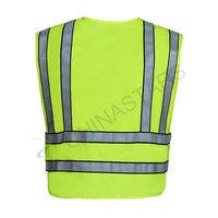 Reflective vest with pen pockets