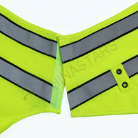 Reflective vest with pen pockets
