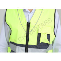 2 tone worker reflective vest 2 colors available