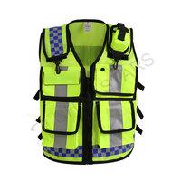 Security kit mesh reflective vest