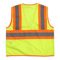 Fluorescent yellow vest