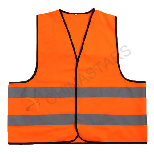 Classic reflective vest with Velcro closure