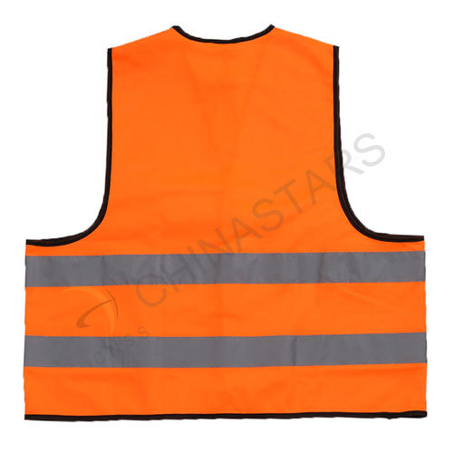 Classic reflective vest with Velcro closure