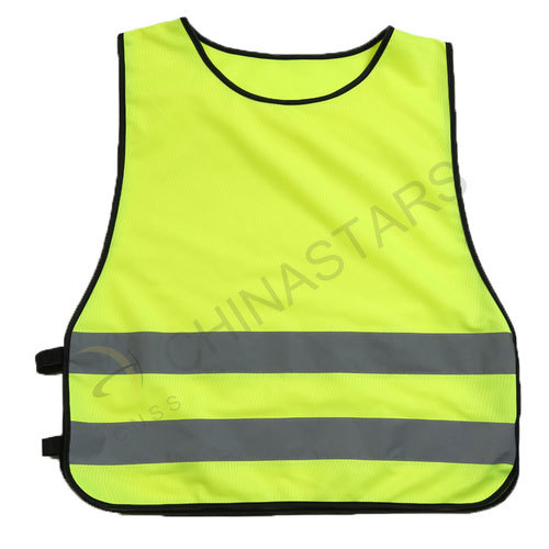 Pullover reflective vest edgings/ no edgings