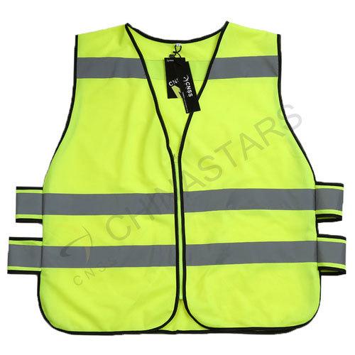 Slip-on reflective vest