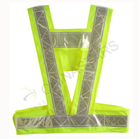 Conspicuity traffic safety vest