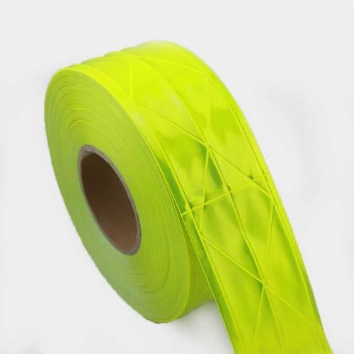 Micro prismatic reflective PVC tape