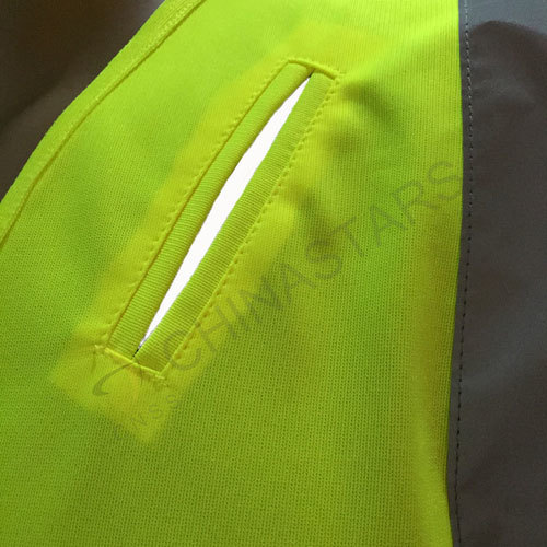Half-sleeve reflective shirt