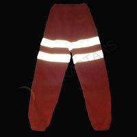 Reflective sweat pants