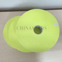 Flame retardant yellow reflective tape