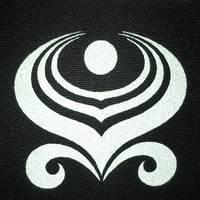 Reflective heat transfer logo
