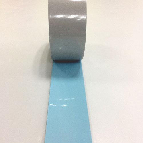 Flame retardant reflective heat transfer film