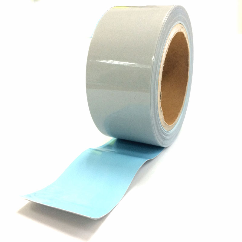 Flame retardant reflective heat transfer film