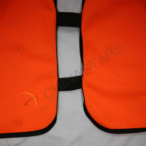 Children fashion safety vest with elastic tapes