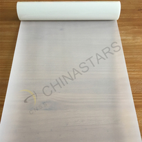 Transparent glass beaded reflective graphics film