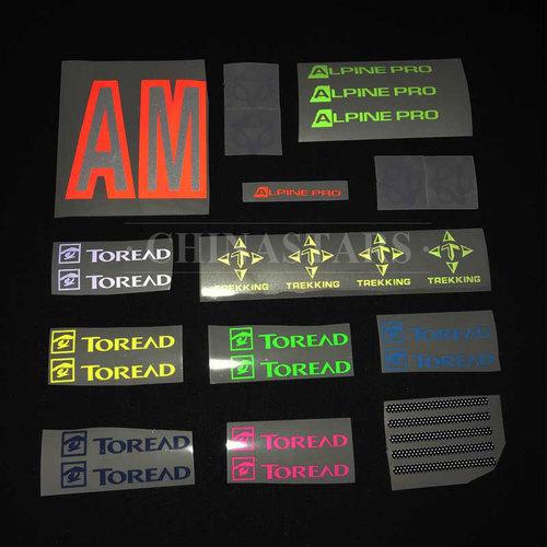 Transparent glass beaded reflective graphics film