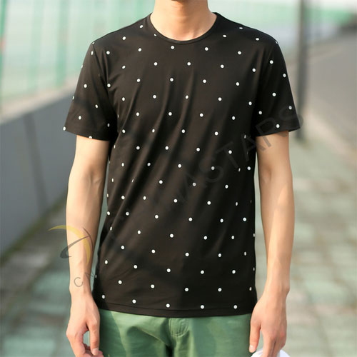 Csr T007 Reflective T Shirt With Dot Patttern
