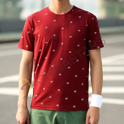 Csr T007 Reflective T Shirt With Dot Patttern