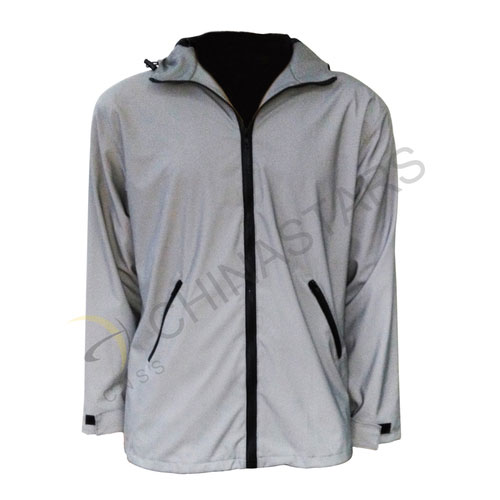 Reflective sports hoodie