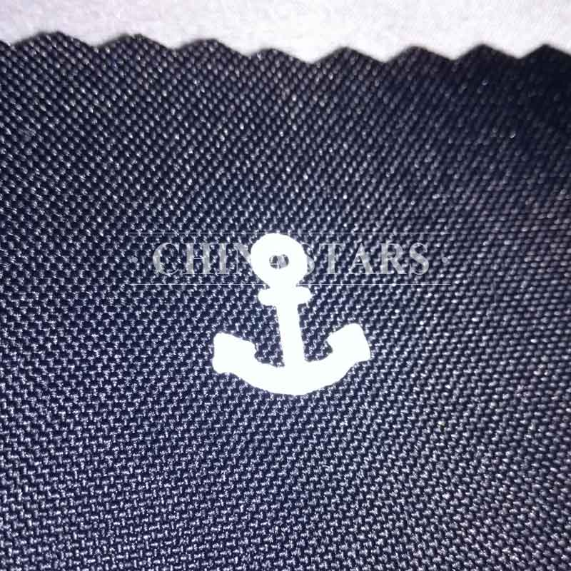 Reflective printing fabric-anchor pattern