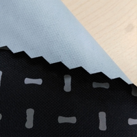 Reflective printing fabric in dumbbell pattern