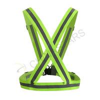Elastic safety vest reflective belt for outdoor sports