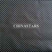 Reflective printing fabric with silver dot pattern