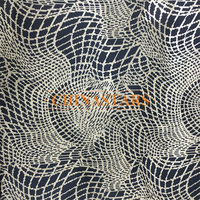 Reflective printing fabric with dot line pattern