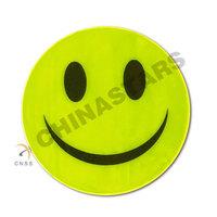 Smile shape reflective sticker for promotion