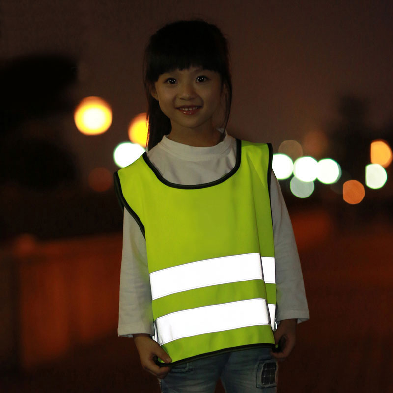 High visible children safety reflective vest