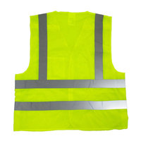 Fluorescent yellow Mesh 5 point breakaway reflective vest