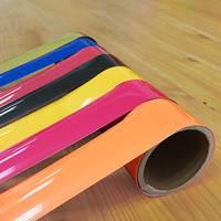 Colorful reflective heat transfer film