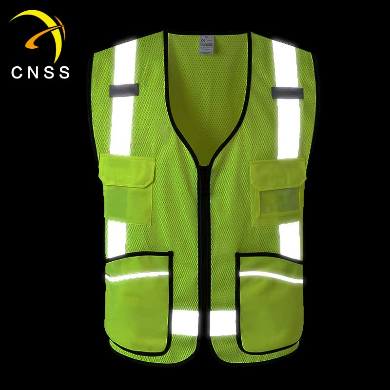 CSV-109 Safety vest with multifunctional pockets