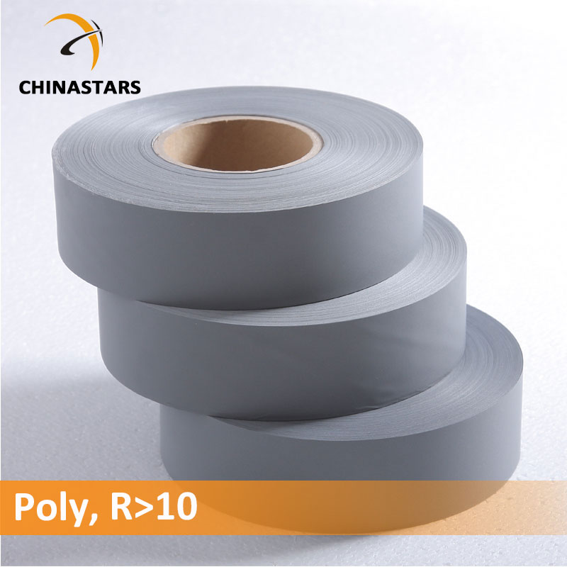 Economical polyester reflective fabric