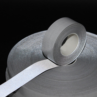Self-adhesive TC reflective fabric tape
