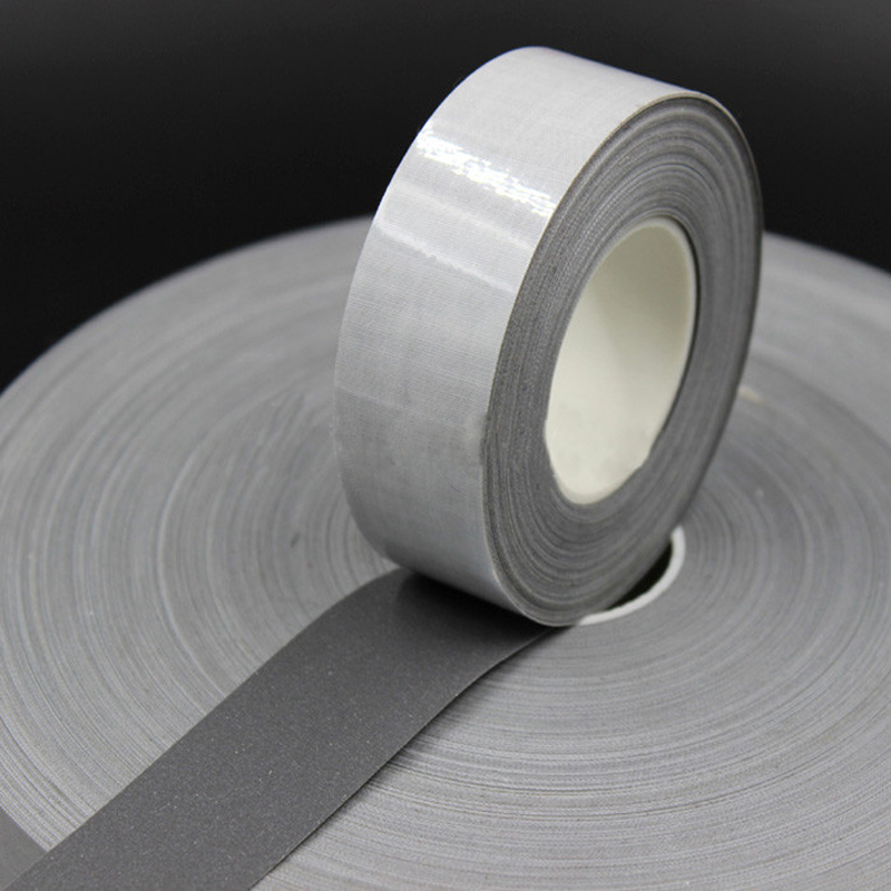 Self-adhesive TC reflective fabric tape