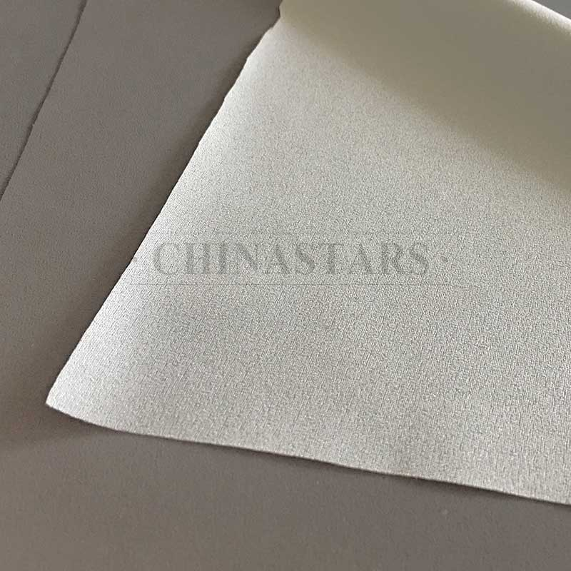 100% polyester chiffon soft reflective fabric