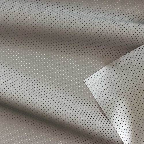 100% Polyester perforated reflective fabric