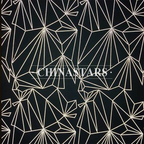 Reflective printing fabric for outdoor clothing