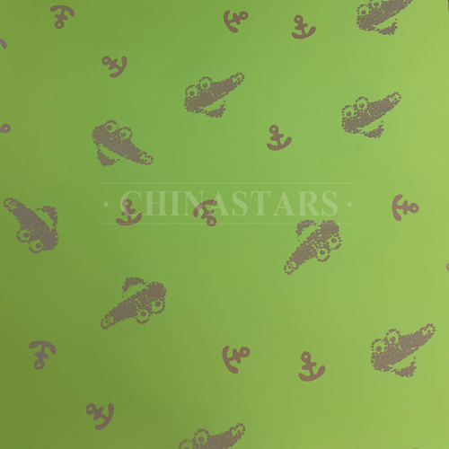 Anchor pattern reflective printing fabric