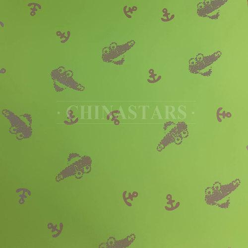 Anchor pattern reflective printing fabric