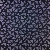 Triangle pattern reflective fabric