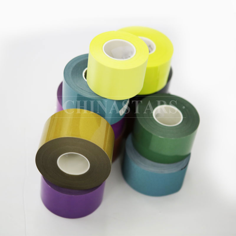 Standard colored reflective heat transfer film