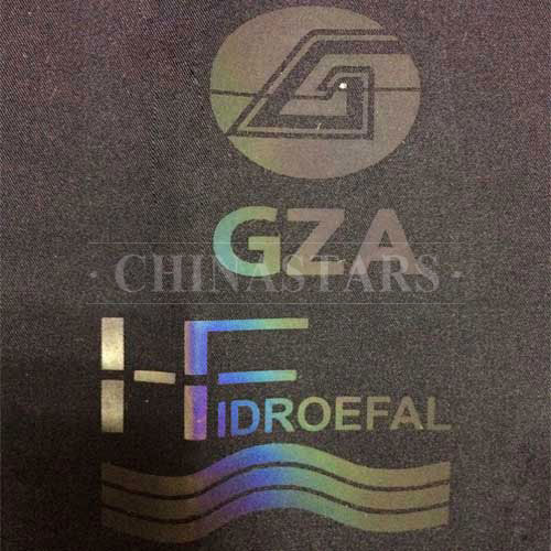 Rainbow reflective heat transfer film