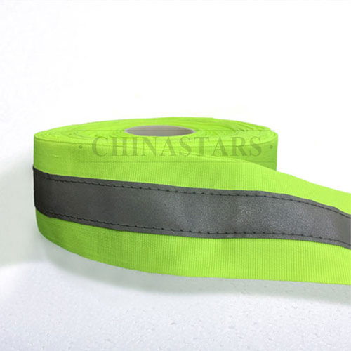 sew on reflective warning trim